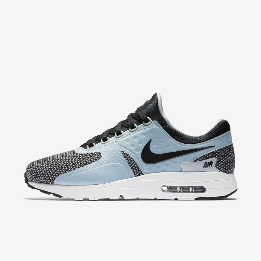 Details about NIKE AIR MAX ZERO MENS RUNNING TRAINER SHOE SIZE 6 7 BLACK  GREY 9a32e8f77b73