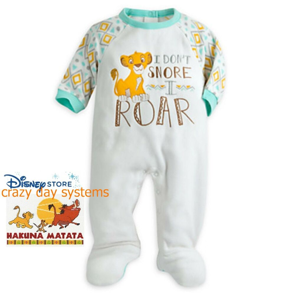 7829b8aac9 Details about Disney Store Simba Lion King Guard Kion Baby Blanket Sleeper  12 18 24 Months NEW