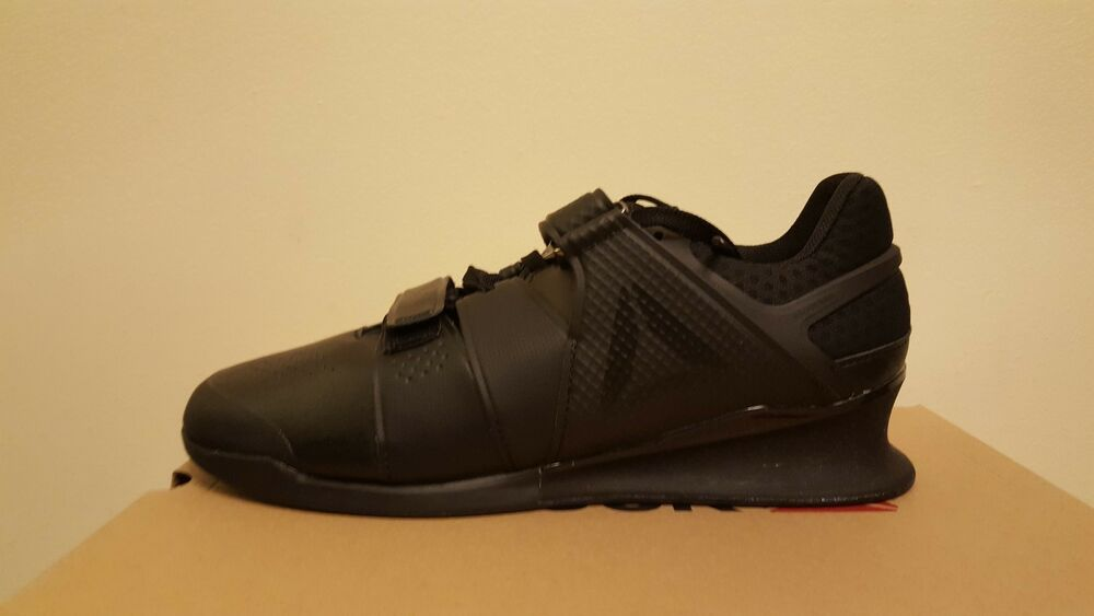 74343ced1b7374 Details about Men s Reebok Legacy Lifter Weightlifting Shoes Black (CN4607)