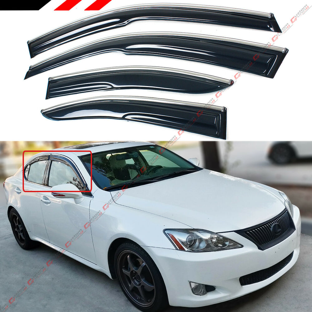 2006 Lexus Is 250 Awd For Sale: FOR 2006-13 LEXUS IS250 IS350 IS-F 3D WAVY CHROME TRIM