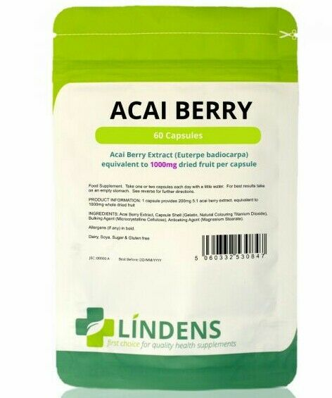 Capsule di Acai Berry 1000mg