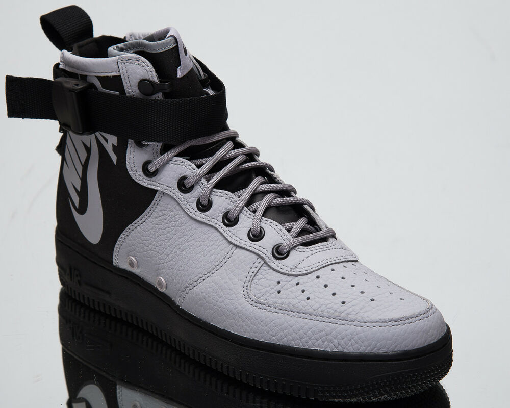 purchase cheap bb46b 0622f Details about Nike SF Air Force 1 Mid Wolf Grey Men s Lifestyle Shoes 2018  Sneakers 917753-009