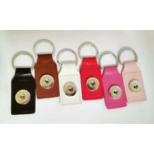 SNAP BUTTON CHARM  Base Holder Zipper Pull Purse Charm Keychain Pick Color!
