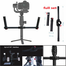 DUAL HANDLE GRIP 3-AXIS HANDHELD STABILIZED GIMBAL DSLR CAMERA