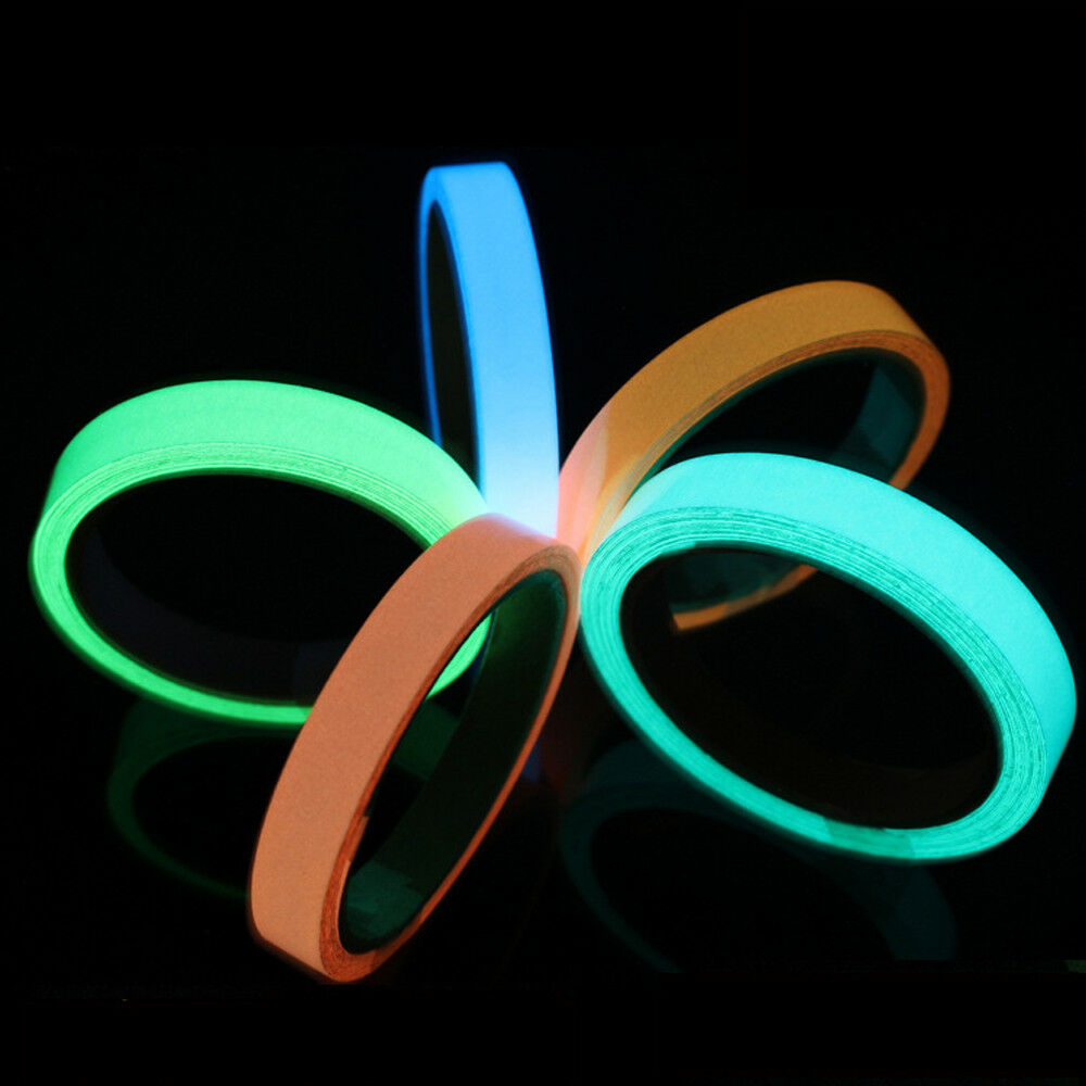 5152034dfe4 Reflective Glow Tape Self-adhesive Luminous Tape Fluorescent Dark Warning  Tape