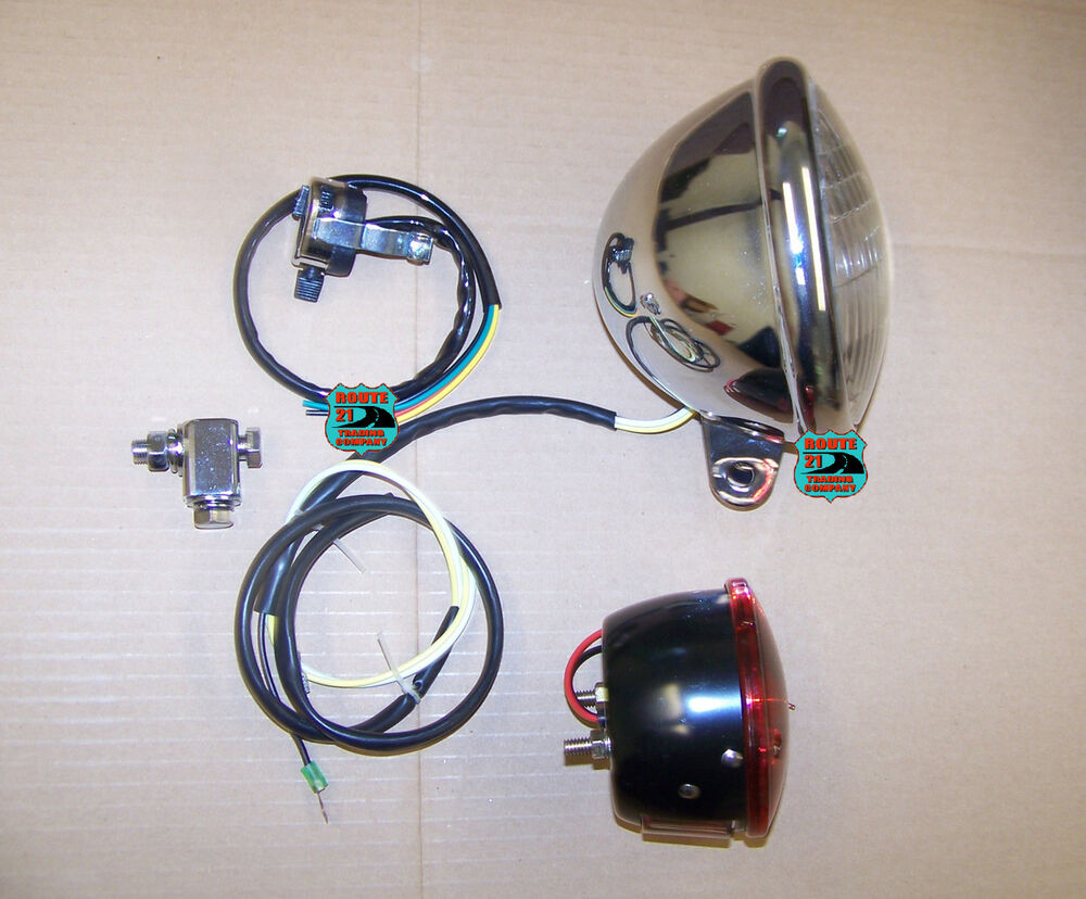 6 volt mini bike light kit # 1 Fox Speedway Bonanza Boonie Bike Rupp ...