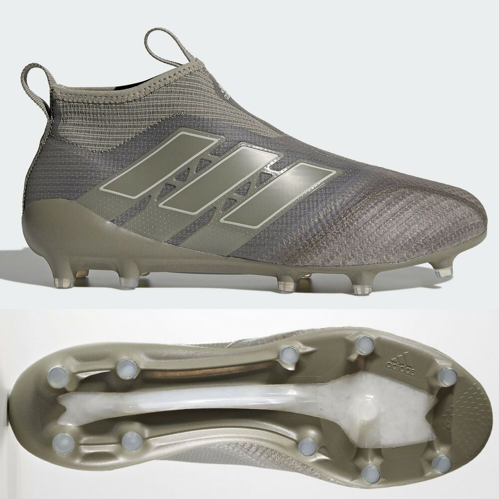 880b52321e4 Details about adidas Ace 17+ Purecontrol FG Mens Football Boots Cleats  Brown Laceless RRP £250