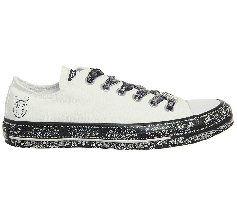 a0aeec3e9cc Details about Women s Converse X Miley Cyrus CTAS ALL STAR OX