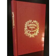 1st Edition Deluxe Facsimile A CHRISTMAS CAROL 1843 CHARLES DICKENS Fine Binding