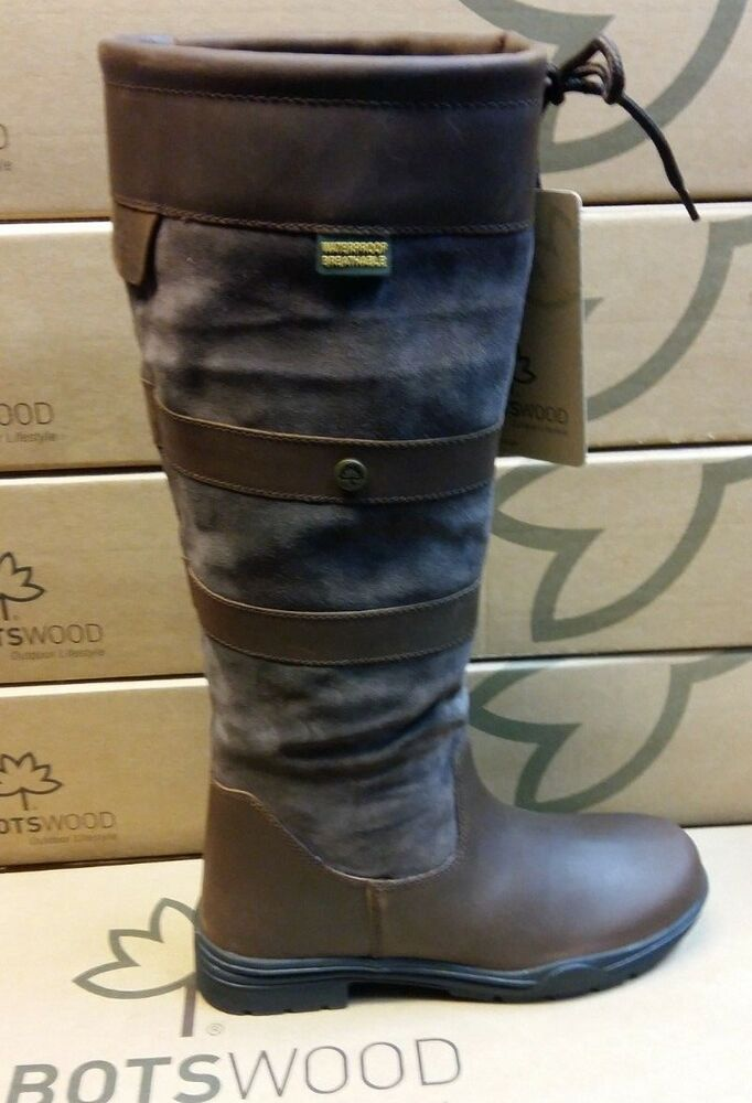 52cba666a7c5 Ladies Cabotswood Leather   Suede Keswick Waterproof Knee high Boots ...