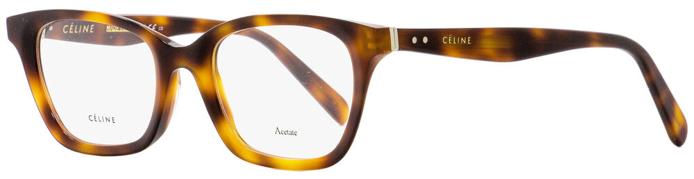 4938003b1b5 Details about Celine Rectangular Eyeglasses CL41465 086 Dark Havana 48mm  41465