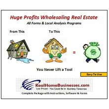 Real Estate Wholesale Flipping Software, Form & Know-How