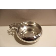Antique Wine Taster Cup Fisher Sterling Silver 6876