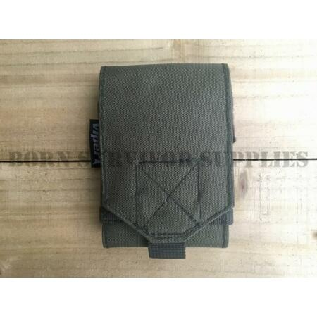 img-Viper GREEN UTILITY SLEEVE Small Pouch MOLLE Mobile Phone Bushcraft Survival Kit