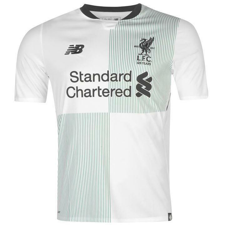 adced07ccfc Details about Liverpool Away Shirt Medium Boys 8-9 Years New Balance 100%  Official product