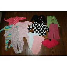 Infant Girls Clothing 6 9 12 months