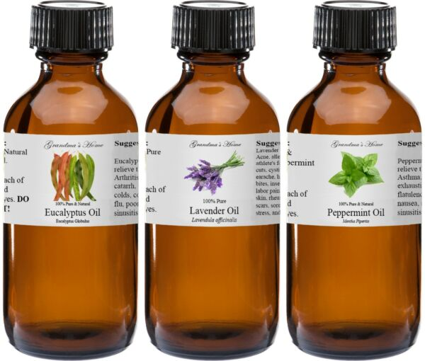 Essential Oil-4 fl oz-in Amber Glass - Pure and Natural - Therapeutic Grade Oil!