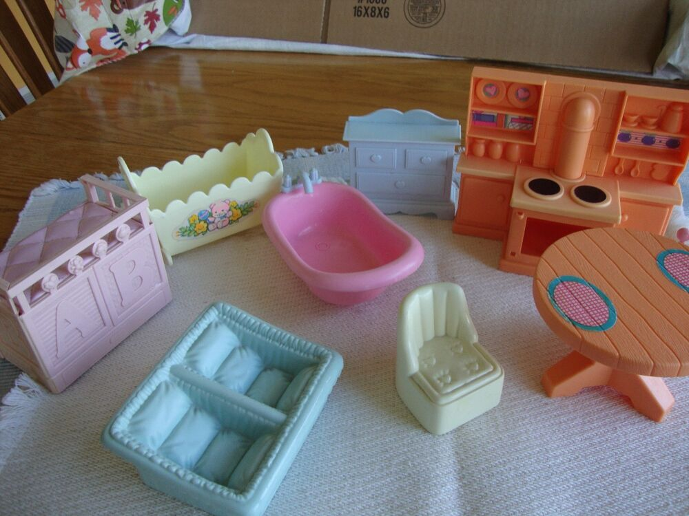 Doll House Furniture Plastic Little Tikes Fisher Price Playskool