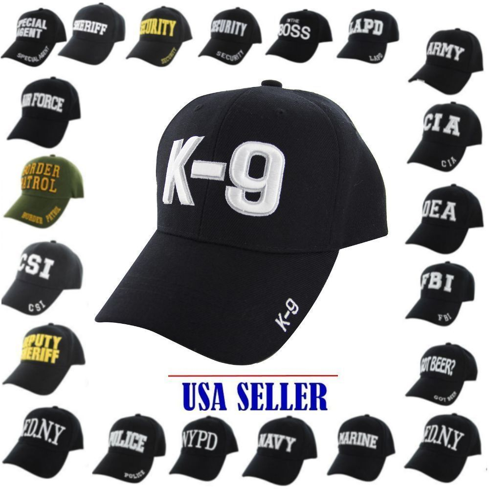 4a666837ff5 Details about NWT Baseball Cap Adjustable Hat CIA