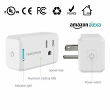 WiFi Smart Plug Power Switch Outlet Alexa Google Home Echo Wireless  Timing NEW