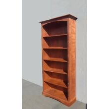 Modern Six Shelf Bookcase
