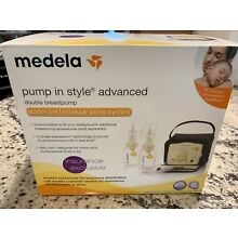Used Medela Pump In Style Advanced with NEW Double Pumping Kit!
