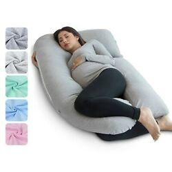 Kyпить PharMeDoc U-Shape Full Body Pregnancy Pillow + BAG ( Grey ONLY ) на еВаy.соm