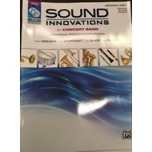SOUND INNOVATIONS FOR CONCERT BAND PERCUSSION BOOK 1 W/ CD