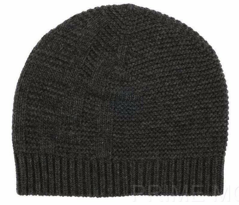 b0065d94d06 Details about NEW FENDI GRAY KNIT WOOL CASHMERE BLEND FF LOGO BEANIE HAT  ONE SIZE UNISEX