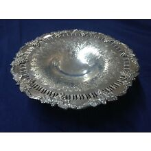 SHEFFIELD REPRODUCTION - SILVER PLATED COMPOTE - 10