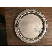 Silver Plated Tray, 12 inches