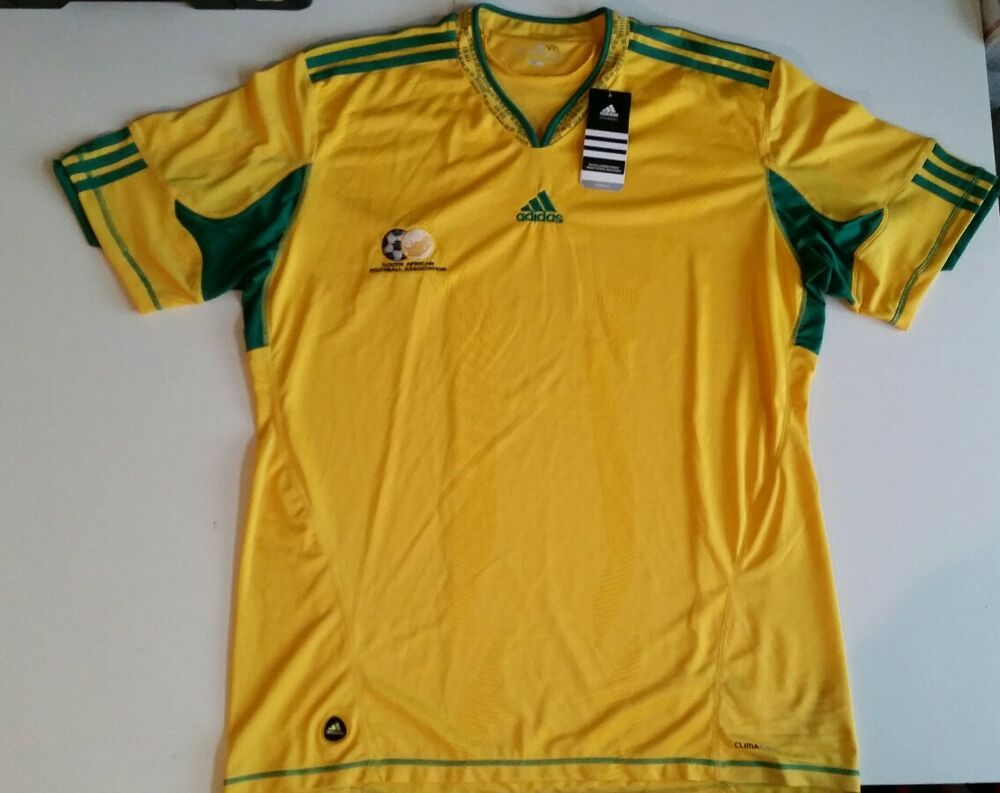 South Africa 2010 World Cup NEW WITH TAGS Soccer Jersey Adidas Size XXL NWT  RARE  4bde6b788ff7a
