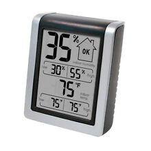 Humidity Monitor Thermometer, Digital Hygrometer and Humidity Gauge Indicator
