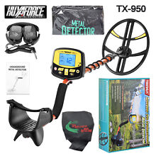 TX-950 Metal Detector w/Waterproof Coil with Headphones , Free Shipping