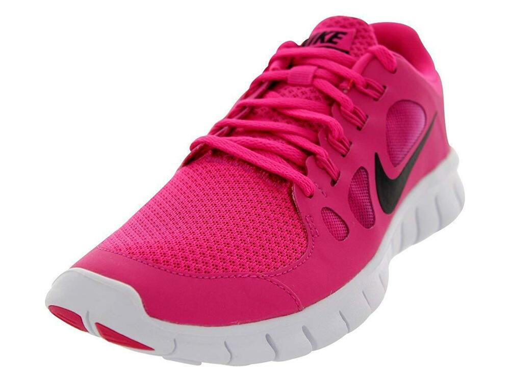 ce834451346b8 Details about WOMEN S NIKE FREE RUNS 5.0 PINK BLACK TRAINERS 580565-602