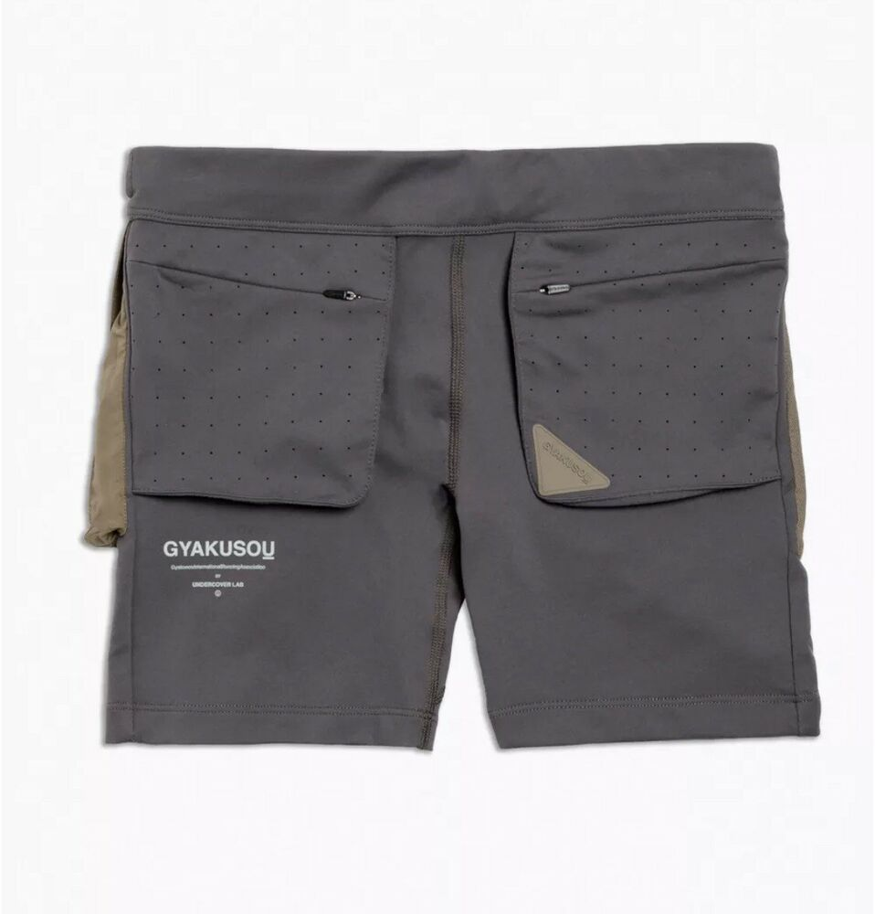 197a5091984f Details about Women s Nike Gyakusou Short Tights Midnight Olive Khaki Size  LARGE AH1178 031