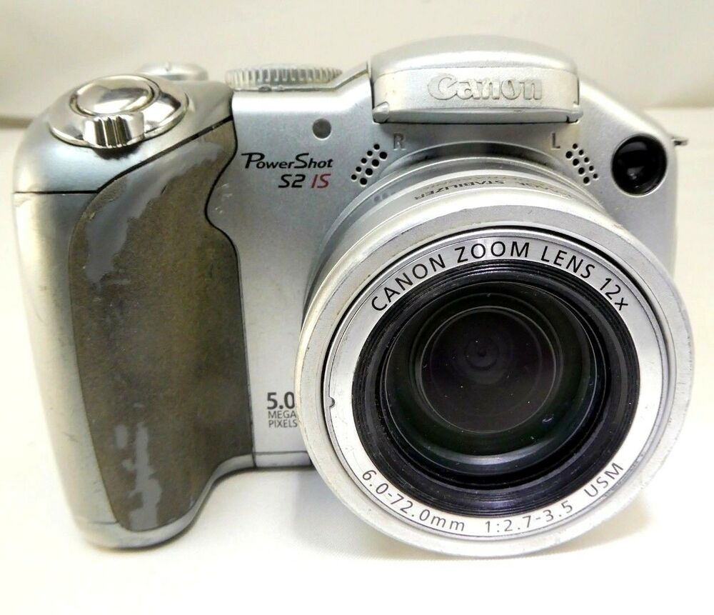 Canon PowerShot S2 IS Digital Camera 5MP does not work AS IS Parts or Repair  13803051629 | eBay