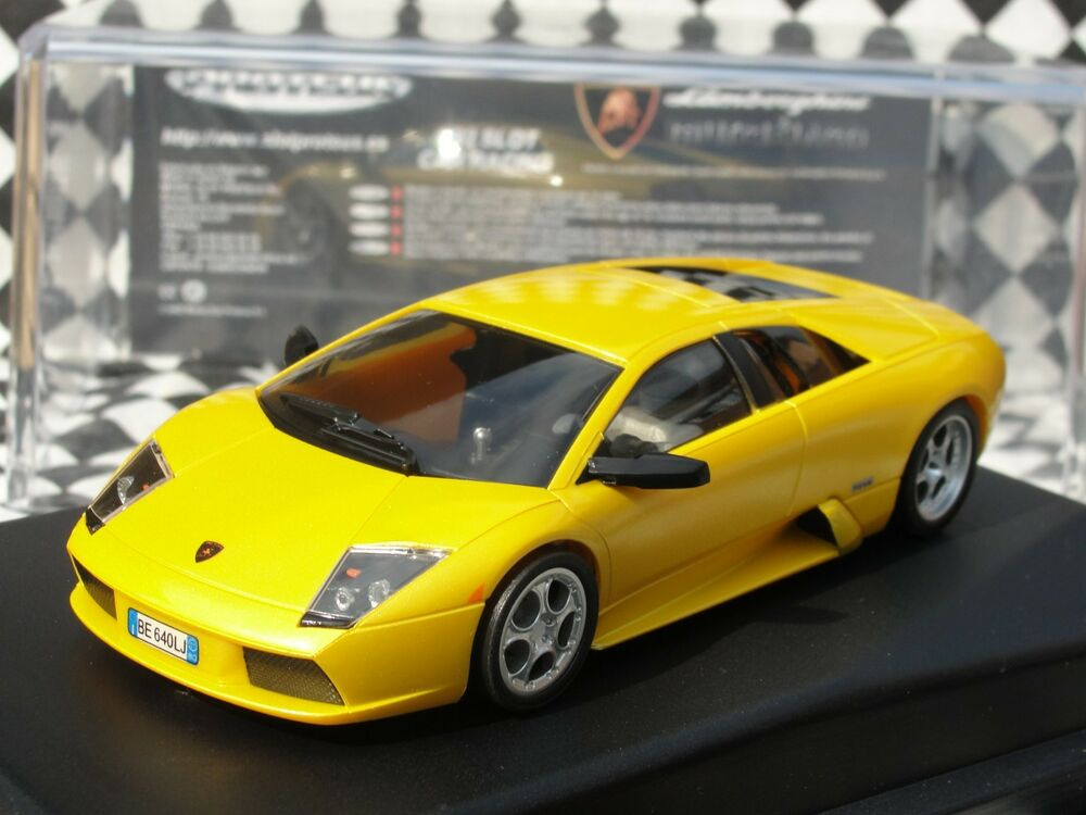 Proteus Lamborghini Murcielago Yellow 50201 1 32 Slot New Old Stock