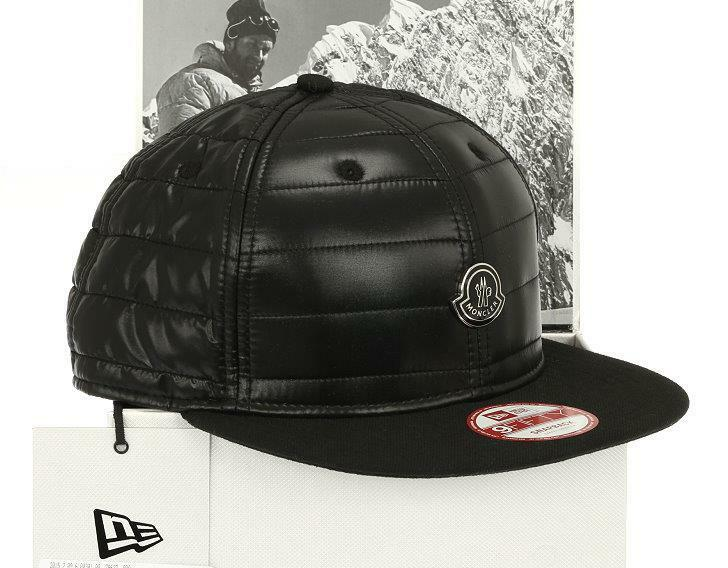 Details about NEW MONCLER NEW ERA SPECIAL EDITION BLACK LOGO BASEBALL CAP  HAT S SMALL bf17e3a5e059