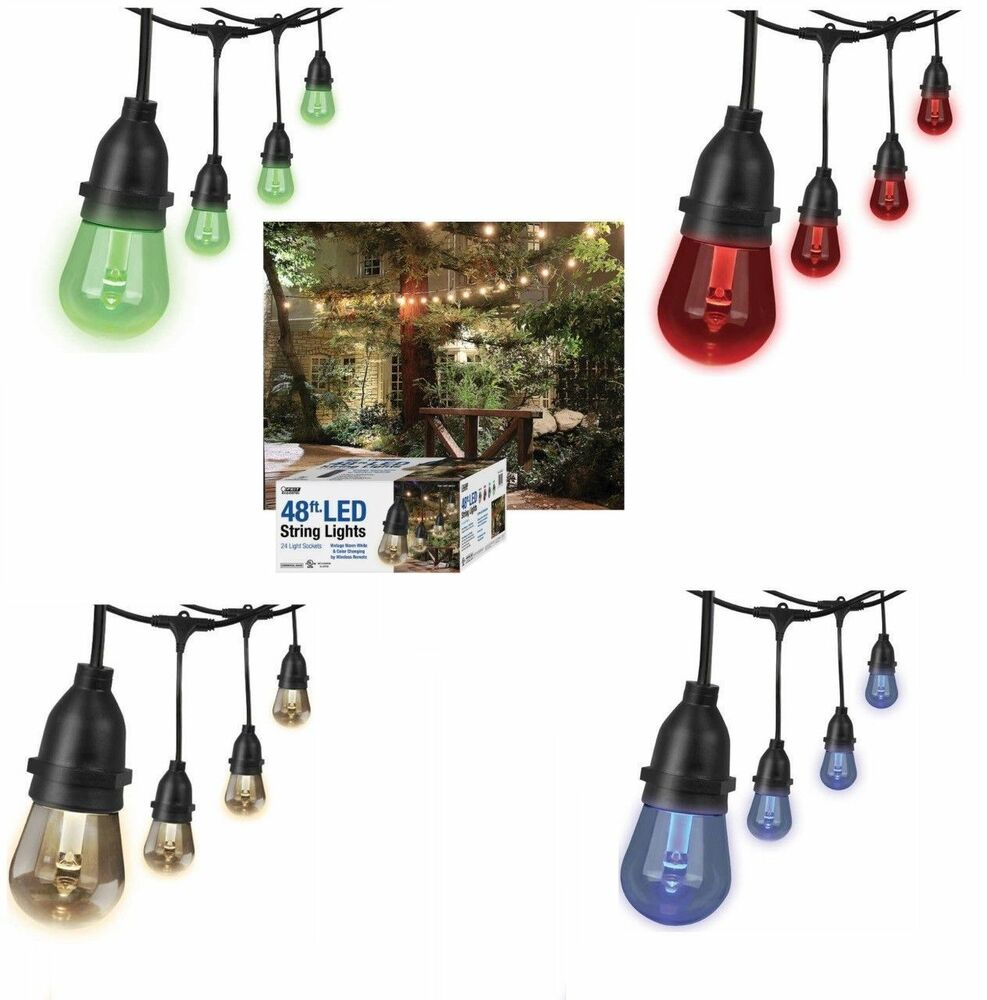 Feit Outdoor String Lights Not Working: Feit Electric 48ft 24 Sockets Led String Light 17801720310