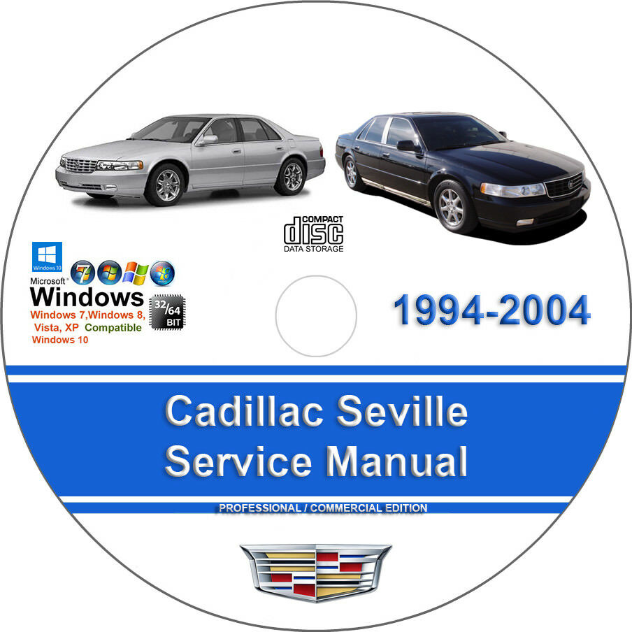Details about Cadillac Seville 1998 1999 2000 2001 2002 2003 2004 Service Repair  Manual
