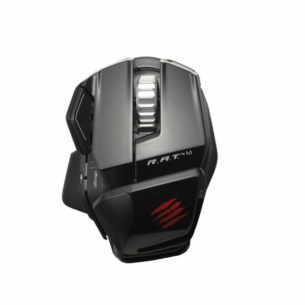 Mad Catz R.A.T. M Wireless Gaming Mouse -PC, Mac & Mobile Devices - Glossy Blac