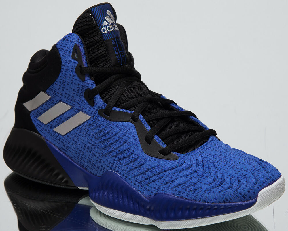330e2f4cfaf6d Details about adidas Mad Bounce 2018 New Men s Basketball Shoes Collegiate  Royal Black AC7428