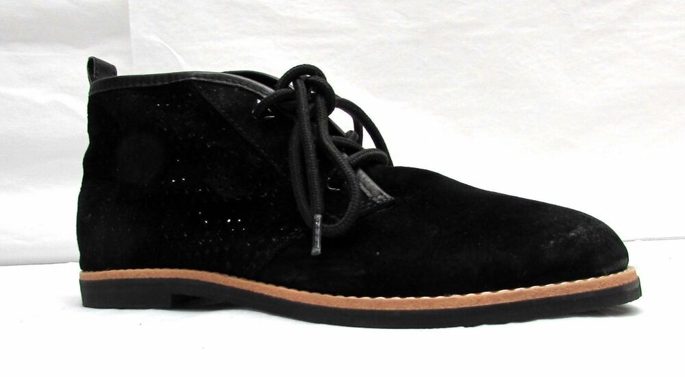 4e9dcc8ac5e3 Details about Very Volatile Los Angeles women s size 7 Black boots leather  suede ankle