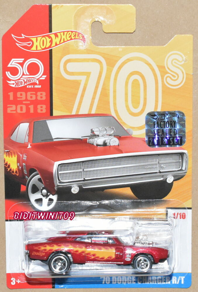 50th Charger Emballage 2018 Dodge Wheels Throwback D'origineEbay '70 Rt Hot uPZikX