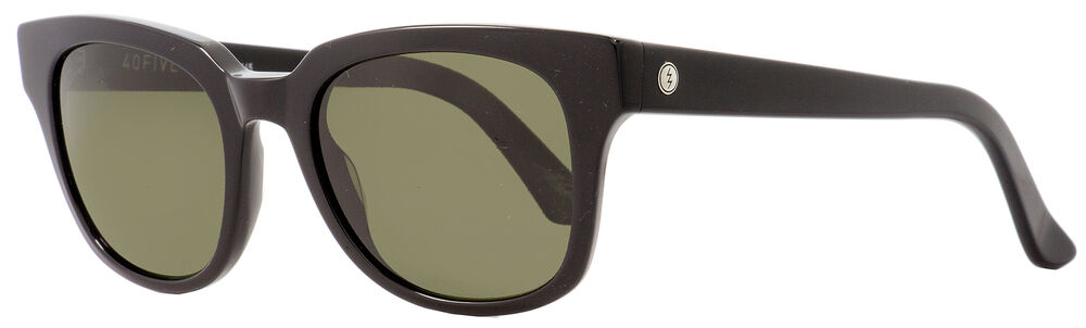 84089e8082 Details about Electric Rectangular Sunglasses 40Five EE12301603 Gloss Black  Polarized 50mm