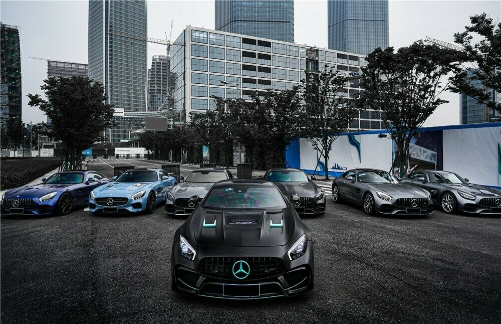 Mercedes Benz Amg >> Darwinpro Mercedes Benz Amg Gt Gts Gtc Imp Style Full Body Kit With