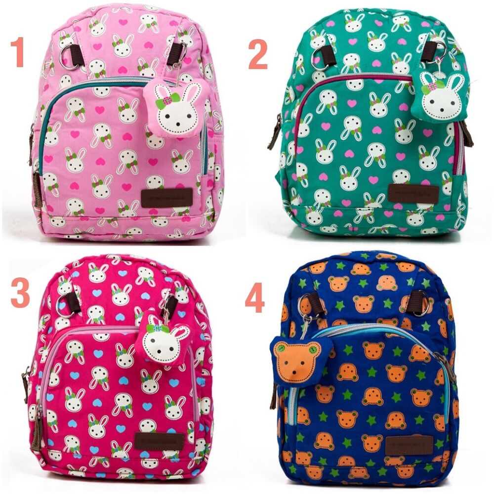 Details about Lovely Rabbit Schoolbag backpack best gift for boys and girls  2-5 yrs old 2a3254840662