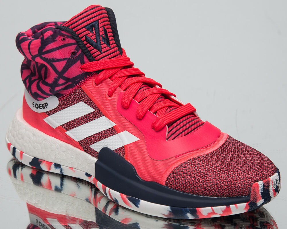 the best attitude da962 51f6f Details about adidas Marquee Boost John Wall New Men s Basketball Shoes  Shock Red White G27737