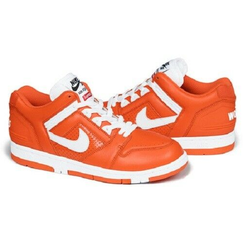 Details about Supreme 17F W SB Air Force 2 Orange Size 8 1000% Authentic e43ffd10f